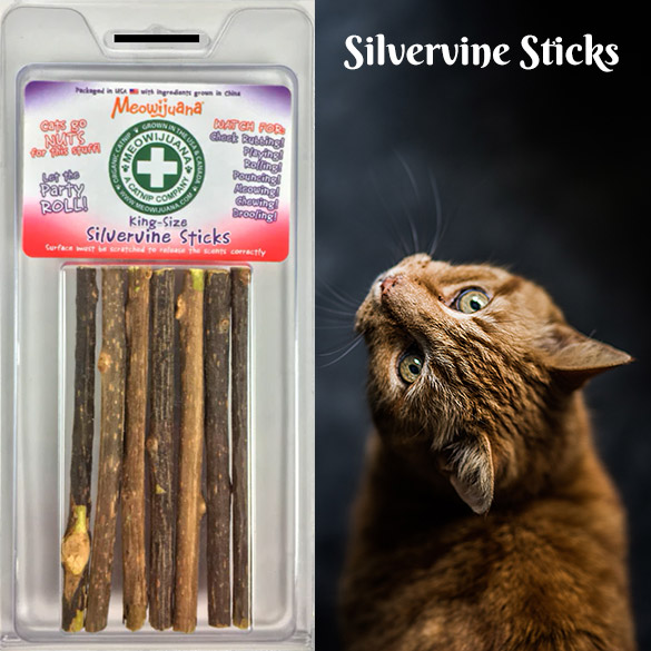 Meowijuana Silvervine Sticks