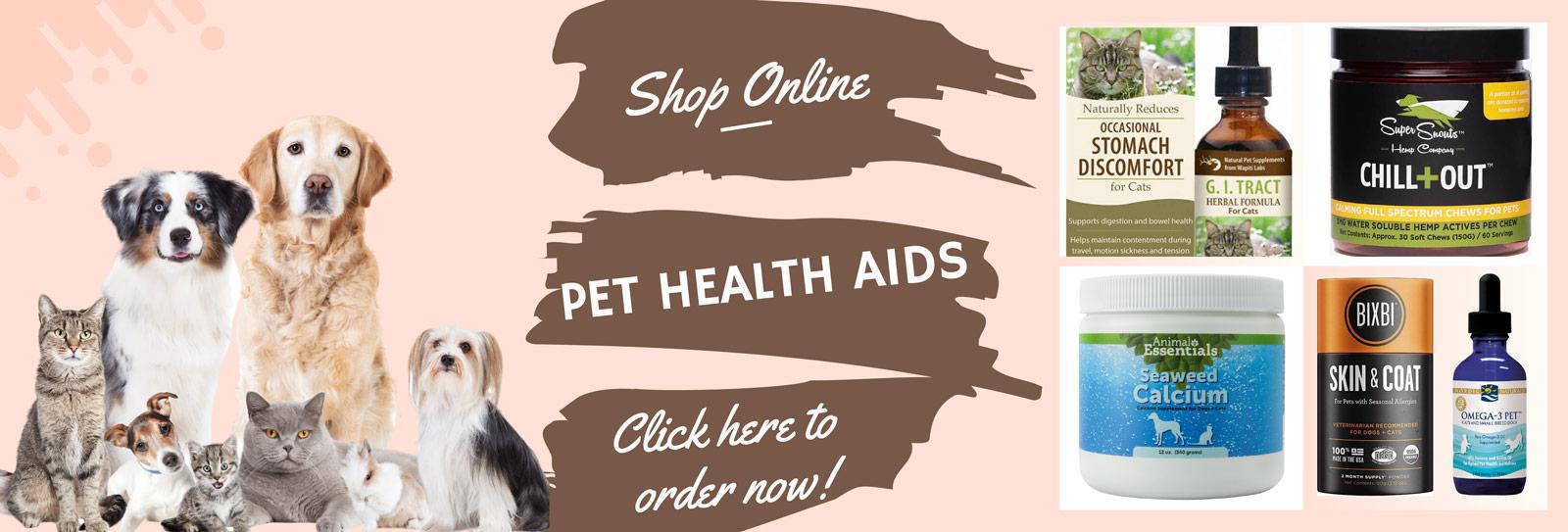 Pets Health Aids