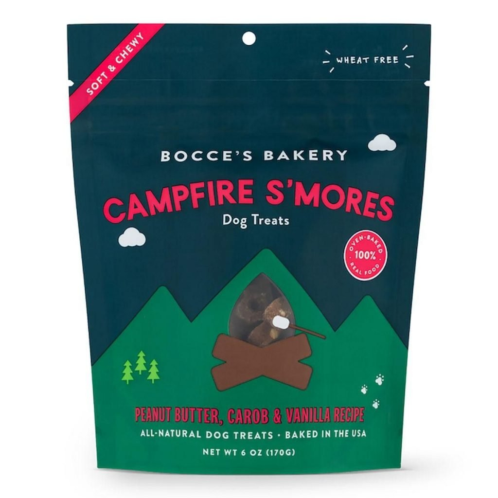 Bocce's Bakery Campfire S'mores Soft & Chewy Dog Treats